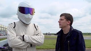 Jesse Eisenberg & Gordon Ramsay (Star In A Rallycross Car) - Top Gear - BBC