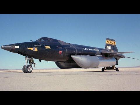 WORLDS FASTEST MACH 6 Aircraft US Air Force X-15 Hypersonic Aircraft