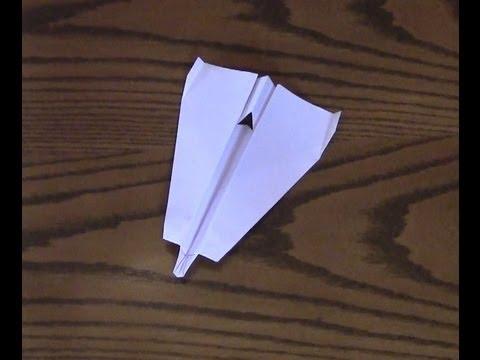 How To Make A Paper Airplane - Interceptor