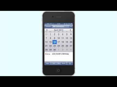 How to Create a Birthday Calendar on iPhone and iPad