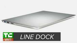 Line Dock gives your MacBook ports, power, and storage