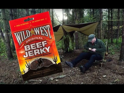 Survival Tips - How to feast like a KING for days on one pack of beef jerky