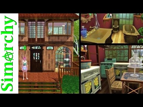 The Sims 3 House Tour - Fairy Tree House - Supernatural Expansion Pack - Tiny Home