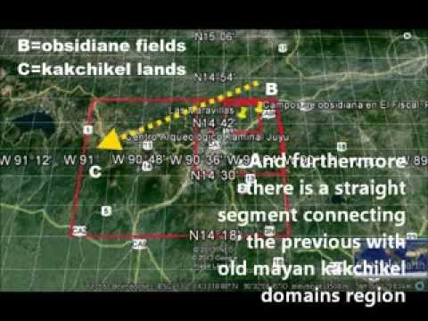 Large ancient mayan domain revealed by Google Earth
