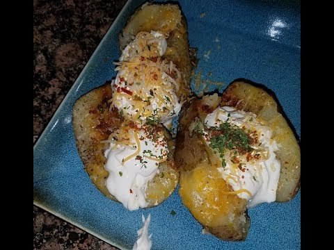 Loaded Baked Potato | The Domestic Ginger