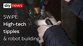 Swipe | High-tech tipples & robot building