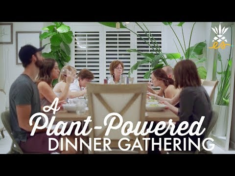 Our First Plant-Powered Dinner Party