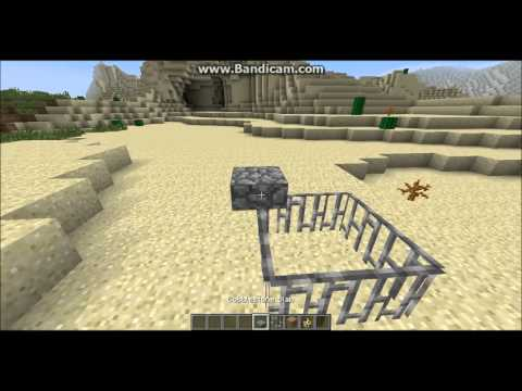 How to make a CAGE for OCELOT in Minecraft!