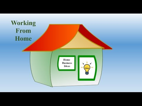 Home Business Ideas And Working From Home