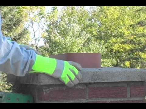 Flue tile and Wash Collar