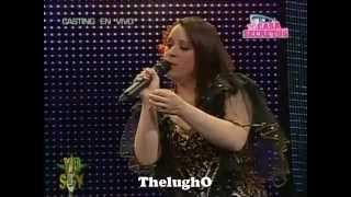Ex Reclusa de Santa Monica se presento en el Casting en Vivo de Yo Soy [26/09/12]