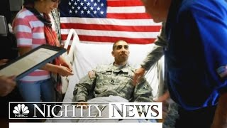 Profile in Courage: Capt. Florent Groberg Awarded Medal of Honor | NBC Nightly News