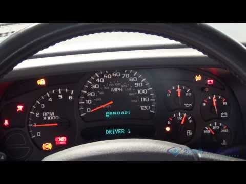 Instrument Cluster Replacement GMC Yukon, XL, Sierra 2000-2006