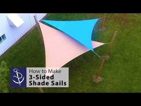 How to Make Shade Sails