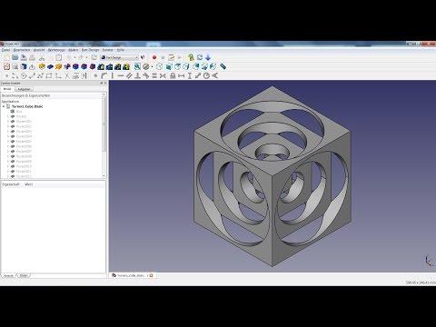FreeCAD Lesson 01 - Turners Cube