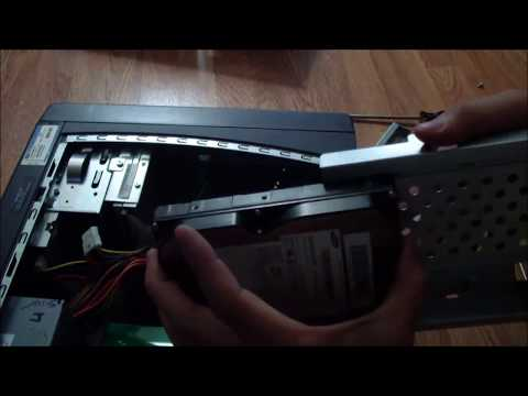 Dell Dimension 4600 Hard Drive Removal and Ram Upgrade Part 1