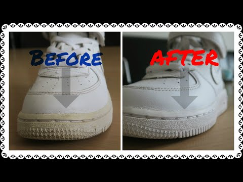 Easy- How To Clean / Whiten Trainer Soles  (No Nonsense Guide)