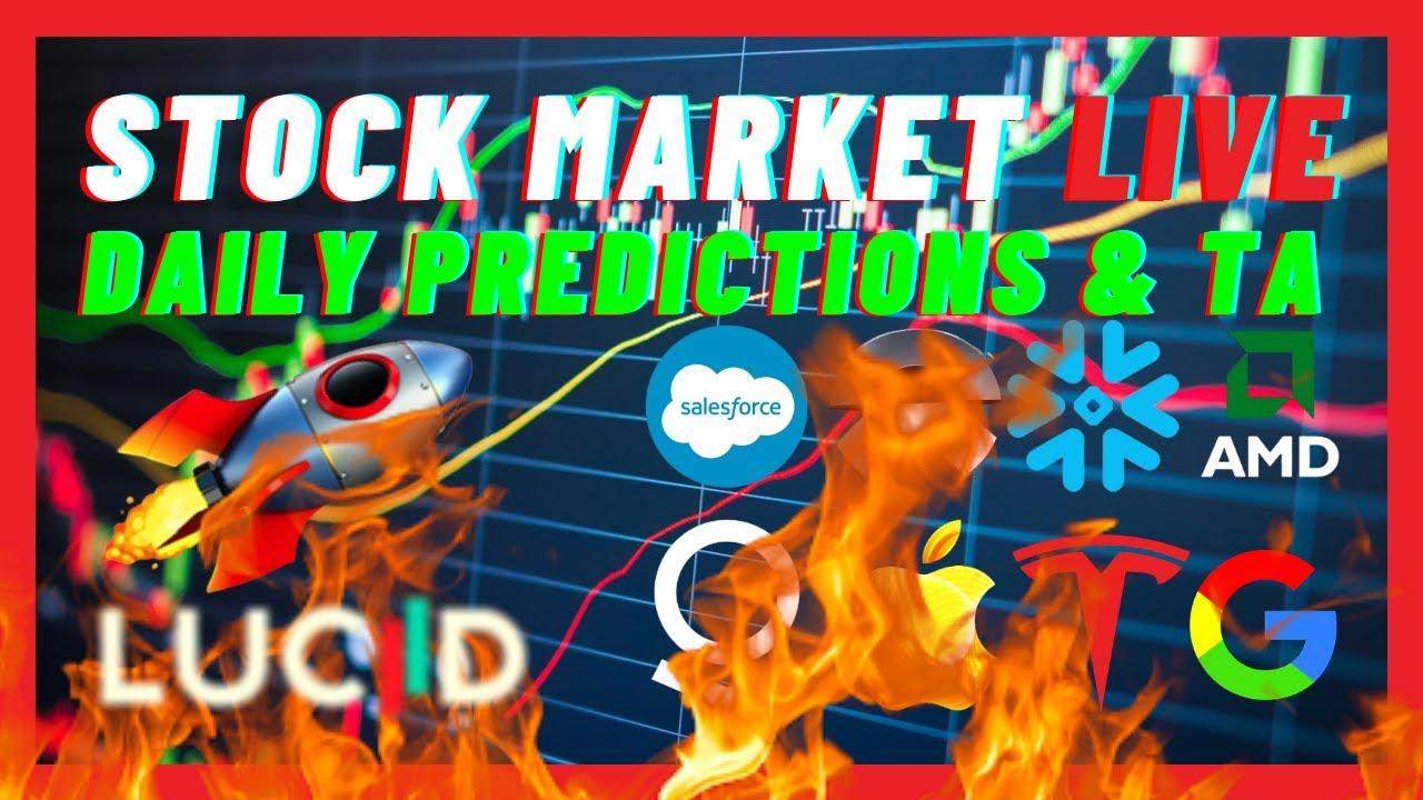 STOCK MARKET IS CRASHING HARD!! WILL THE STOCK MARKET REBOUND?!🚀 🔥 | Stock Market Daily Live 🔥 📈