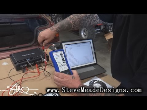 HOW TO: Apple ipad or iphone to Car Stereo Amps - Using SMD Distortion Detector DD-1