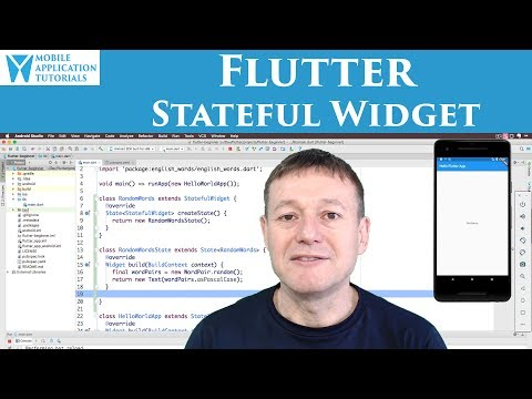 Flutter creating Stateful Widget
