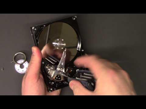 What's inside a Hard Drive take apart