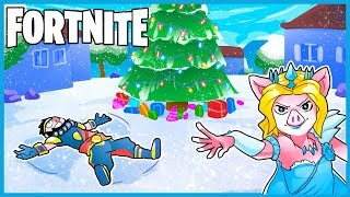 *NEW* SNOWY CHRISTMAS DAY in Fortnite: Battle Royale! (Duos w/ 11 Year Old Connor)