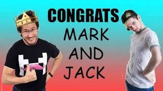 CONGRATS MARK AND JACK!