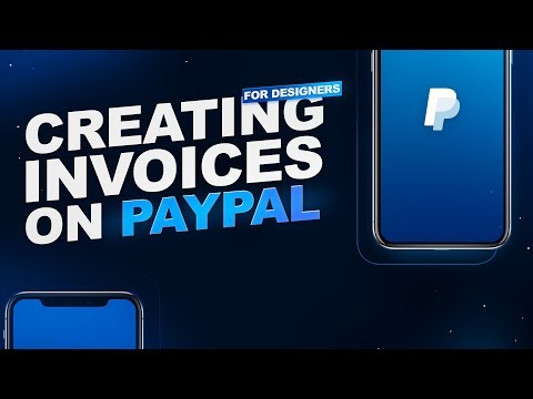 Creating Invoices on PayPal for Designers