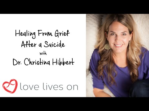 Healing From Grief After a Suicide