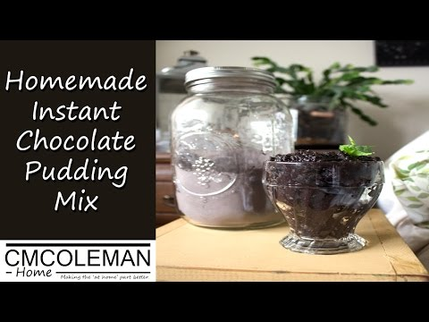 Homemade Instant Chocolate Pudding Mix