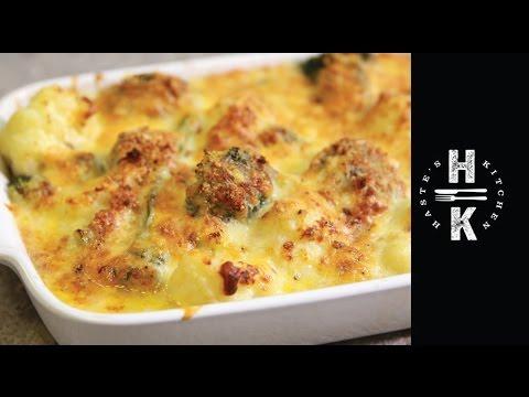 Gluten free cauliflower and broccoli cheese #Ad