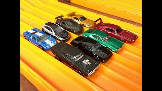 Hot Wheels Fast & Furious Set Review & Race - Which is fastest?