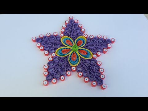 How to make paper quilling wall frames DIY Wall Decor | Quilling Art for Bedroom #art 55bby art life