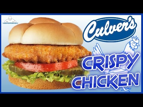 CULVER'S® | CRISPY CHICKEN SANDWICH REVIEW | THEENDORSEMENT
