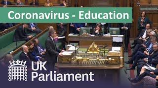 Coronavirus: Educational settings update - 18 March 2020