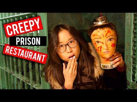 Japanese PRISON THEMED Restaurant in Tokyo