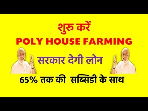 Poly House Farming In Hindi | Poly House Subsidy Scheme In Hindi | SMART WAY |