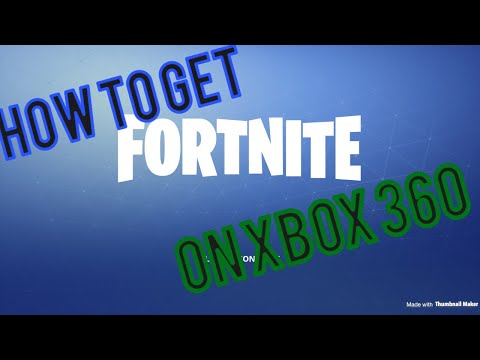 How to get fortnite on Xbox 360