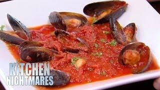 Gordon Ramsay Served The Smallest Portion Of Mussels He's Ever Seen   Kitchen Nightmares