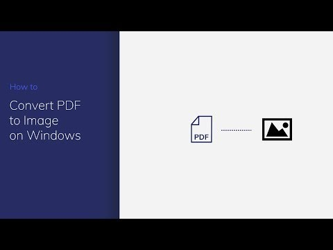 Convert PDF to Image on Windows with PDFelement