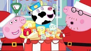 Peppa Pig English Episodes🎄Peppa at Christmas Market🎄Peppa Pig Christmas | Peppa Pig Official | 4K