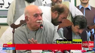 Mehmood Khan achakzai rejected  Election 2018