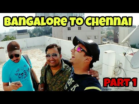 First Vlog : Bangalore To Chennai | Pondicherry Trip 😄😄😄