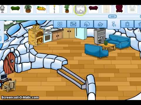 Club penguin how to make a simple house.