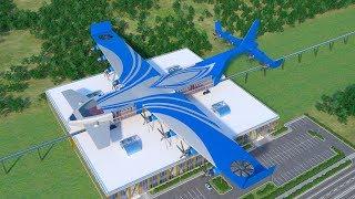 Flying train.   Dahir Insaat