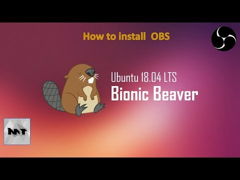 How to install OBS on Ubuntu 18.04