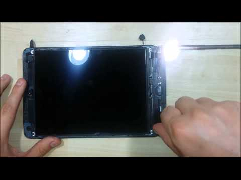iPad Mini Screen LCD Battery replacement - Disassembly - Part 1
