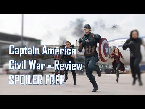 Captain America: Civil War Review (SPOILER FREE)