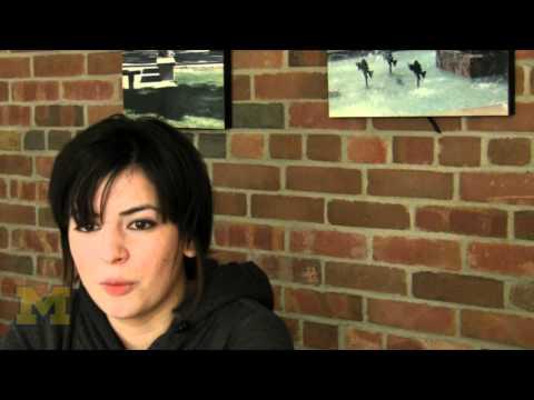 Bianca Vasquez, undergraduate, Ross School of Business (English)