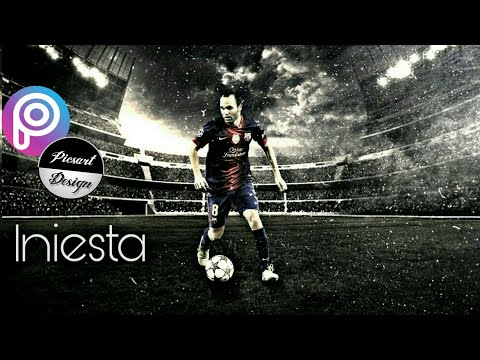Picsart editing| how to make mixtape for your best football player